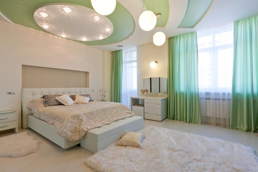 63 modern master bedroom ideas pictures designs paint 16291 | modern bedroom green white theme