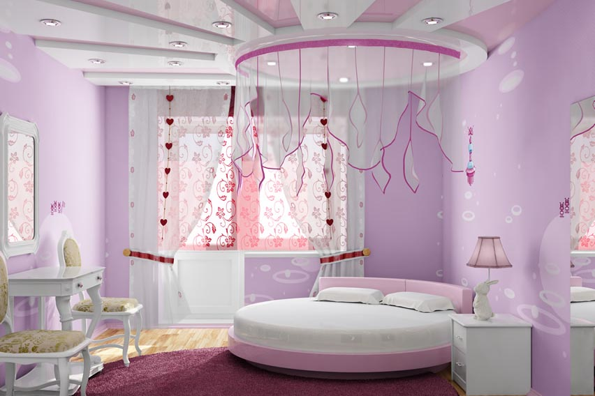 14+ Beautiful Girls Bedroom Ideas for Small Rooms (Teenage ... on Beautiful Room For Teenage Girl  id=81403