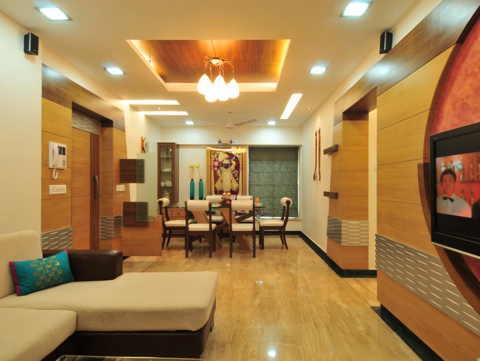 Contemporary Twist Space Idea For Indian House