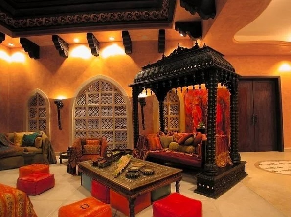 20 amazing living room designs indian style interior design and decor inspiration archlux net. Black Bedroom Furniture Sets. Home Design Ideas