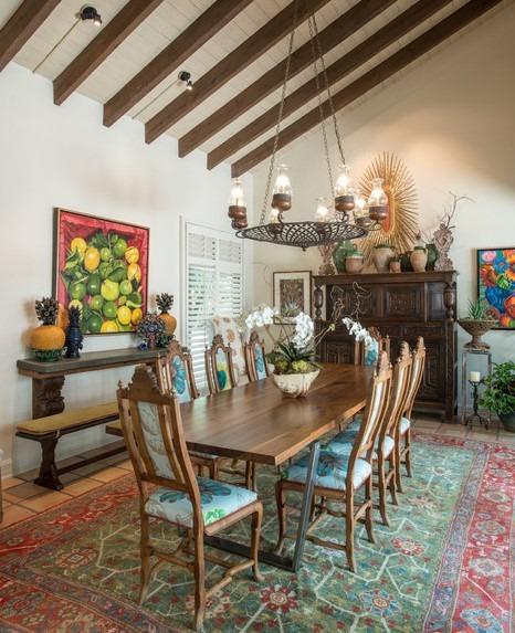 An Artist's RetreatEclectic Interior Design