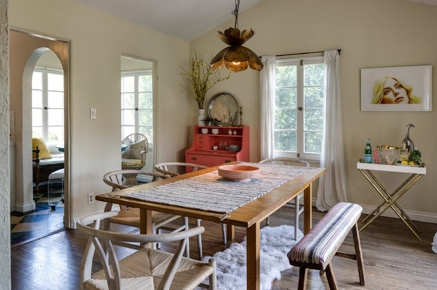 Eclectic Interior Design of Hayworth House