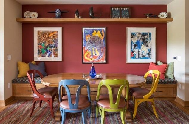Eclectic Living Room Regatta Condo