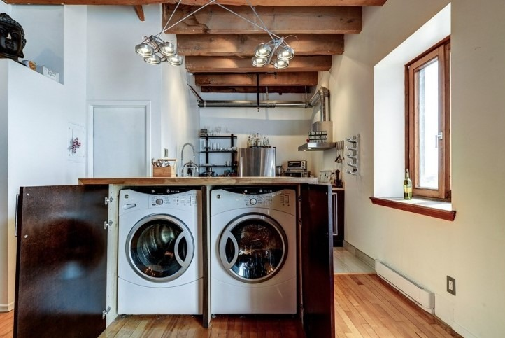 Rustic Small Laundry Room Ideas