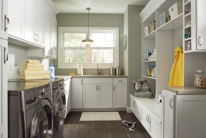 Small Laundry Room Cabinet Design Ideas
