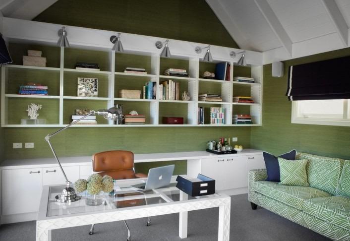 Small Office Interior Design With Bonus Room Idea