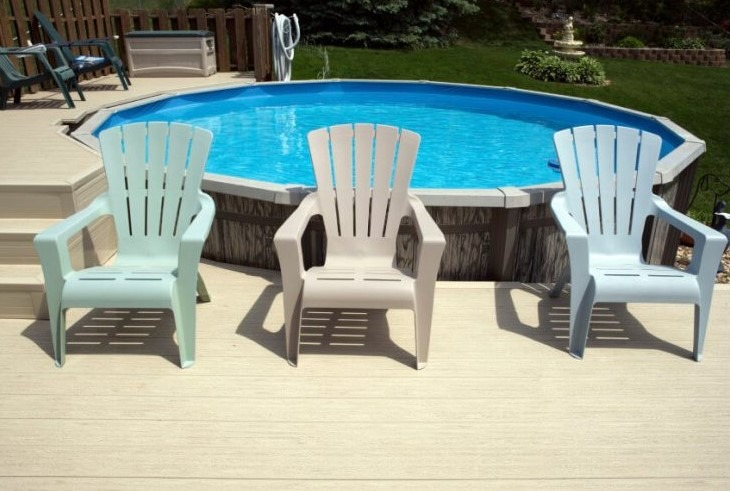10 amazing above ground pool ideas with price archlux net for Multi level deck above ground pool