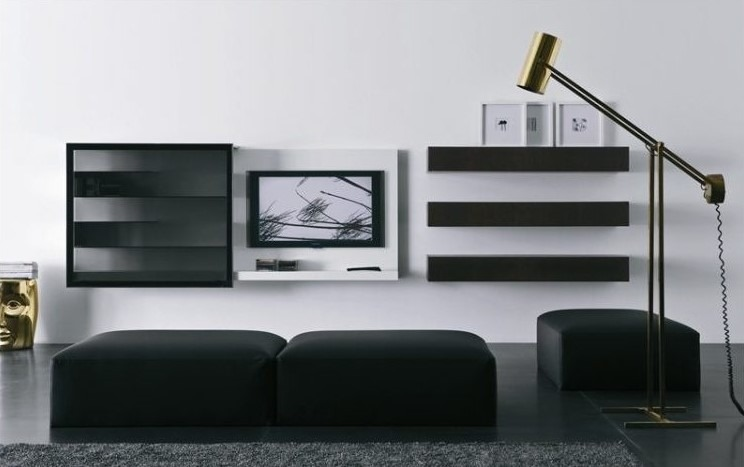 14 Chic And Modern Tv Wall Mount Ideas For Living Room Archlux Net