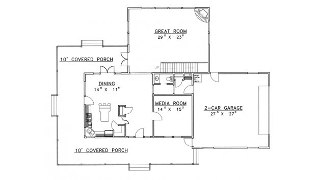 Patio Roof Ideas - Wraparound porch