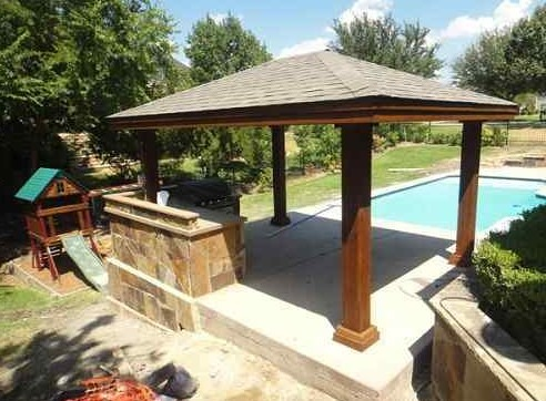 How to build a freestanding patio cover with 10 sample for Build a freestanding patio cover