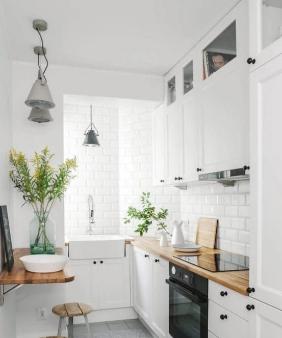 This Slim Simple Kitchen Style