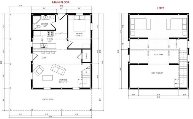 20 barndominium floor plans metal building floor plans for Barn loft apartment plans