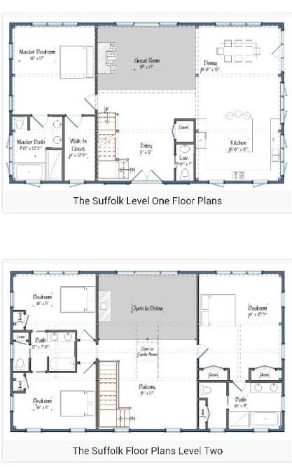 20 barndominium floor plans metal building floor plans for Metal shop with living quarters floor plans
