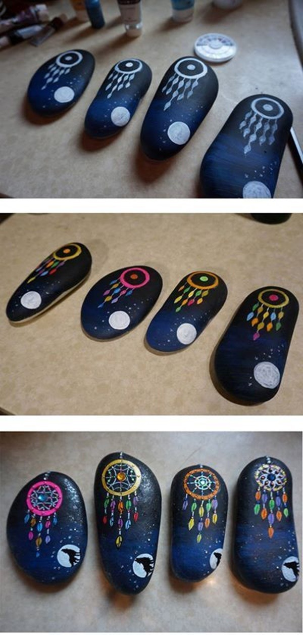 Easy Painting Ideas - Arts on Rocks