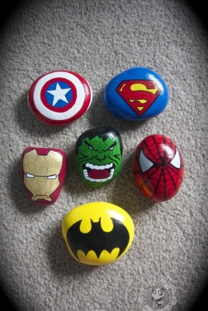 Easy Painting Ideas - Super Hero