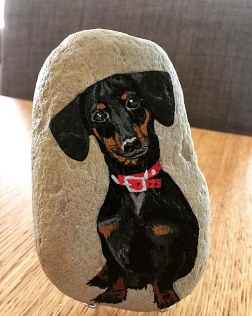 Easy Rock Painting Ideas - Funny Gug