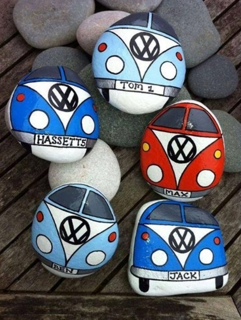 Rock Painting Ideas - Art For Artistic People