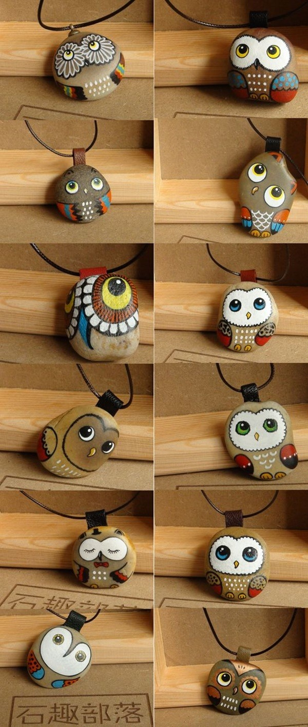 Rock Painting Ideas - Artistic