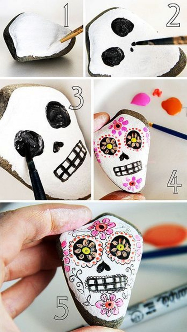 Rock Painting Ideas - Atractive Art