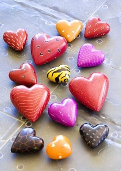 Rock Painting Ideas - Hearts