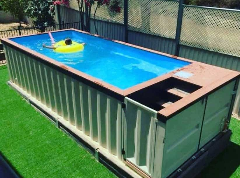 Above-Ground Pool on Budget
