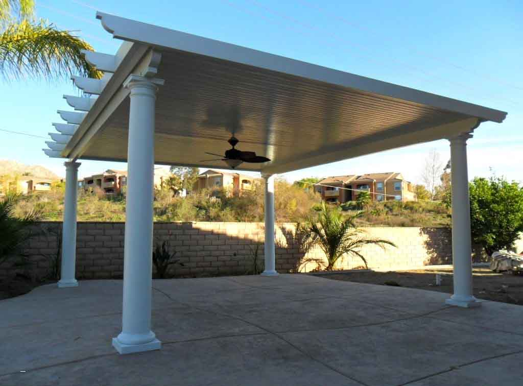 Aluminum Patio Cover Idea