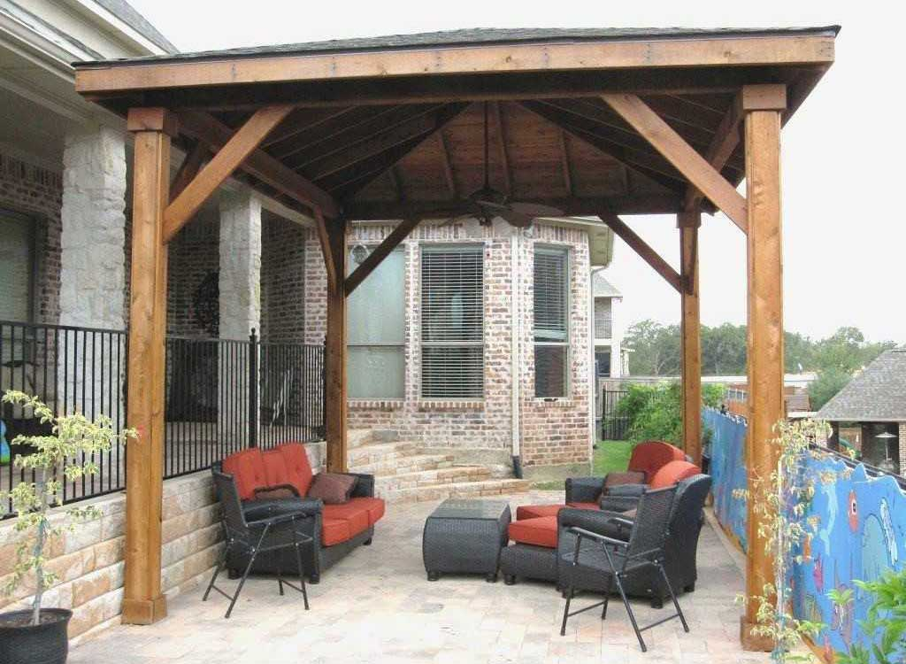 Classic Freestanding Patio Cover