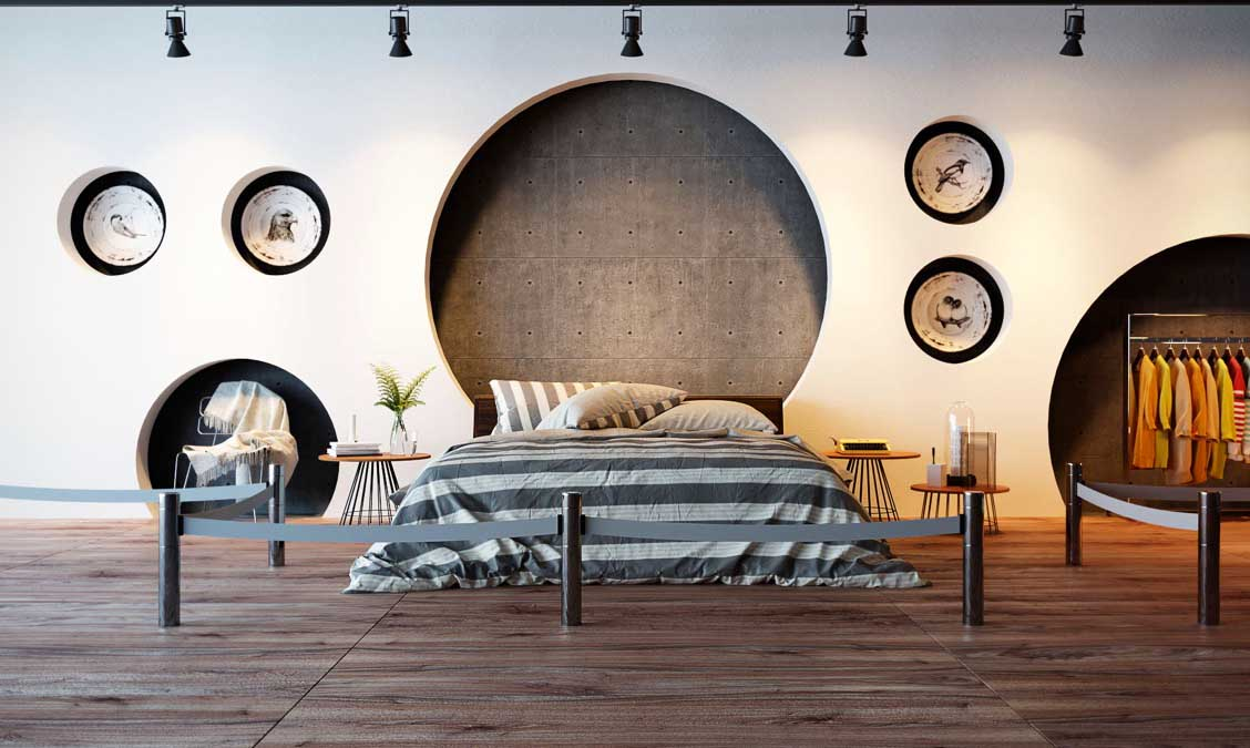 Decorative Accent Wall Idea