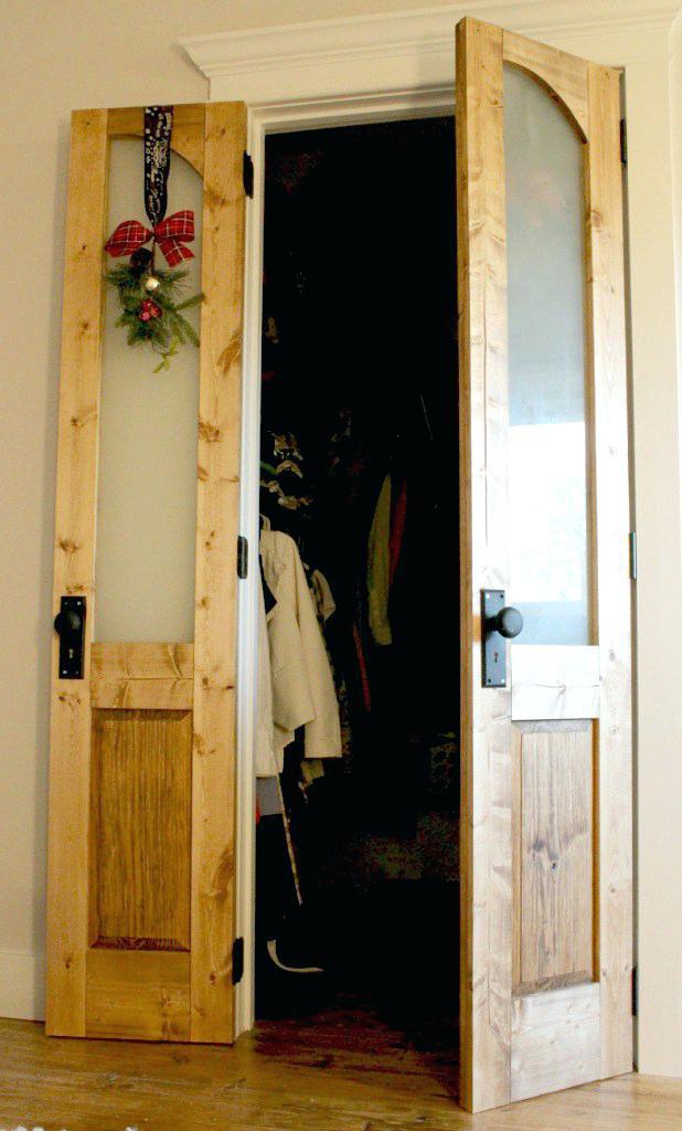 French-Themed Closet Door Ideas