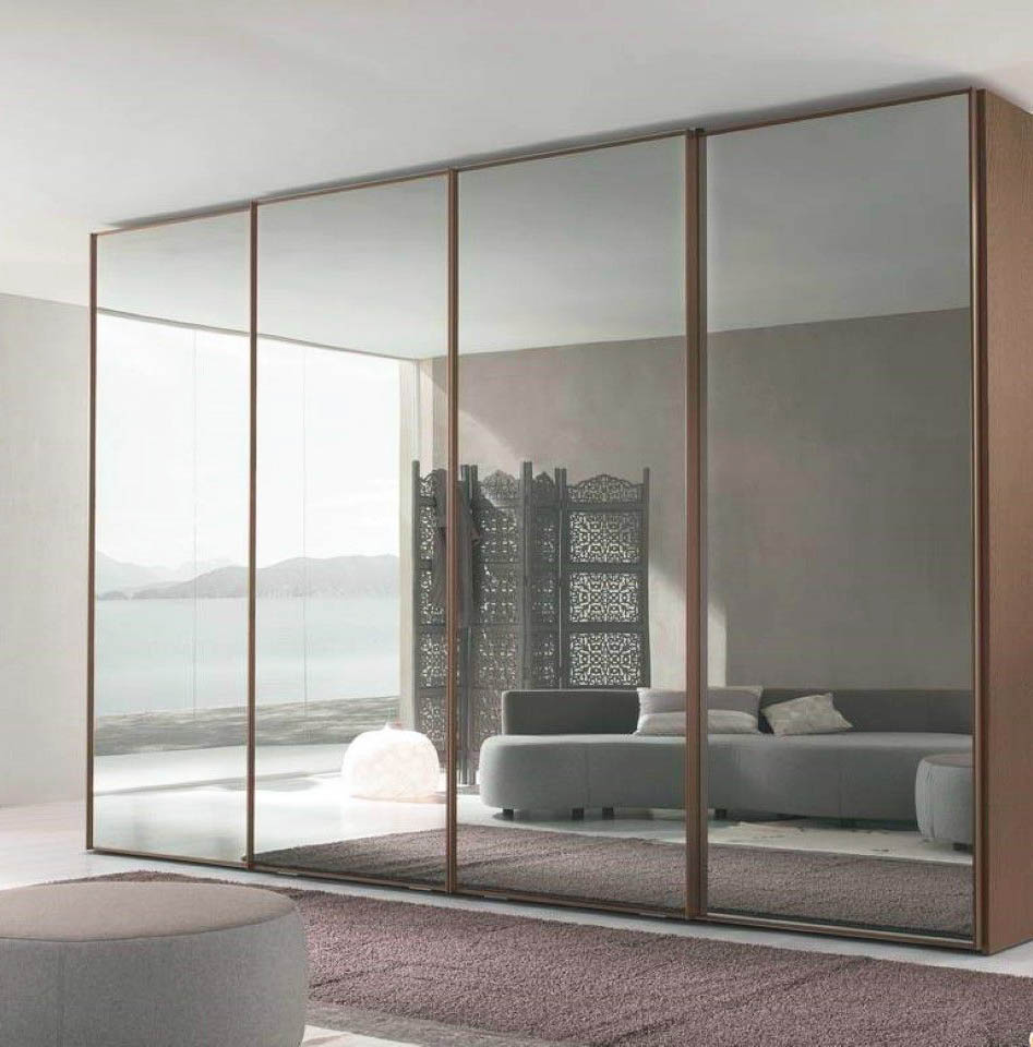 Full Mirror Closet Door Ideas