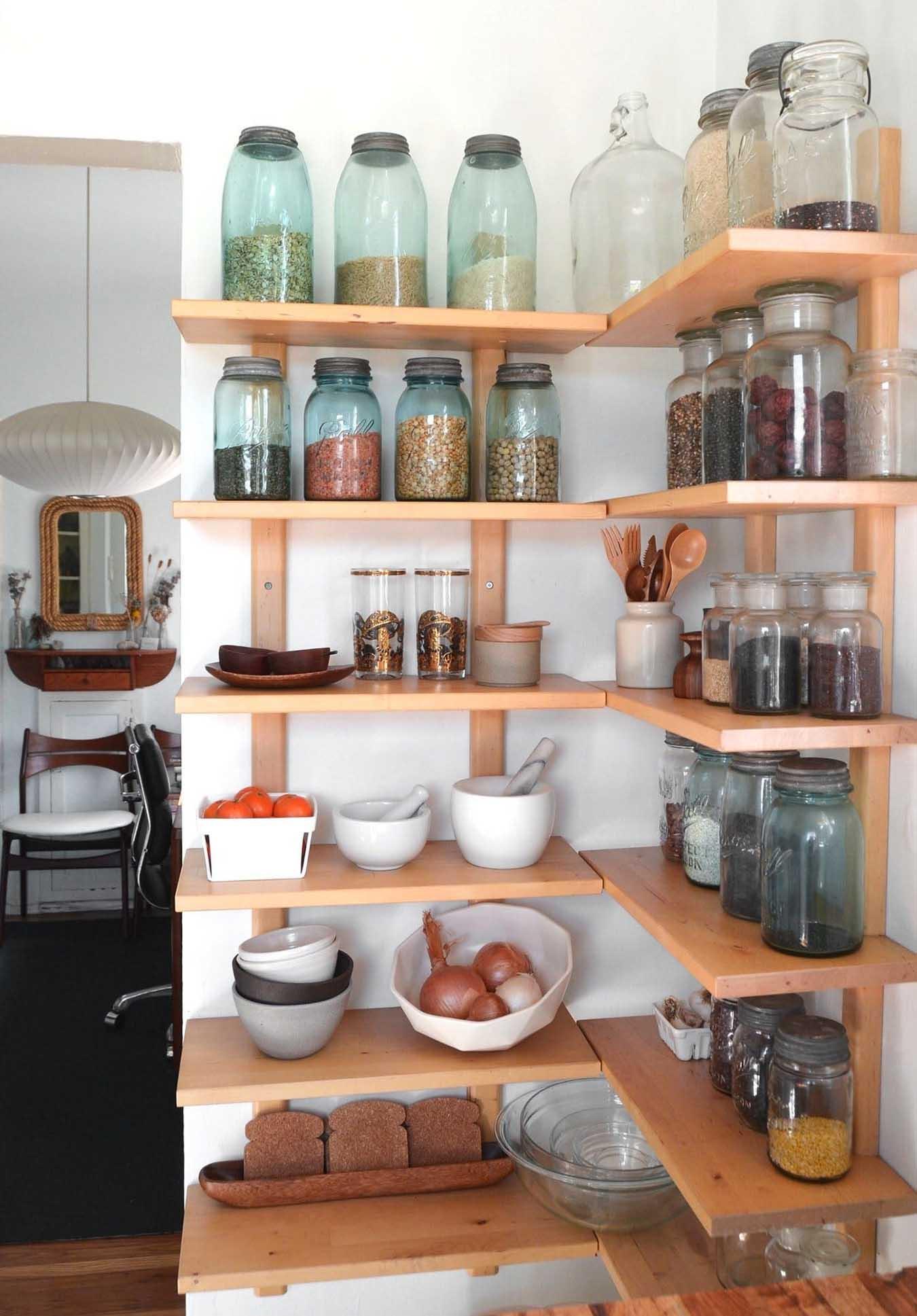 Kitchen Corner Shelves Pantry