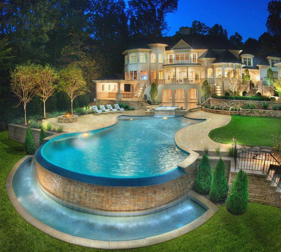Luxurious Above-Ground Pool
