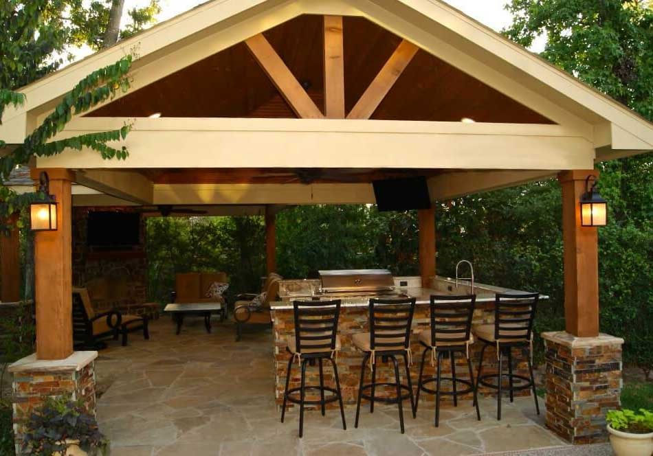 How to Build A Freestanding Patio Cover with Best 10 ... on Patio Cover Ideas Images id=99604