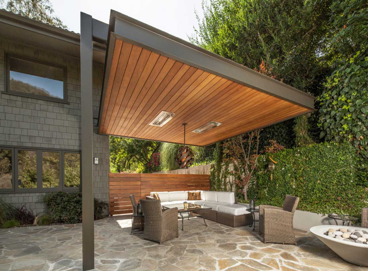 Modern Patio Roof