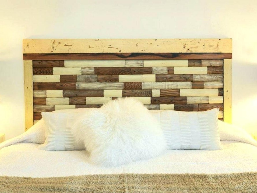Old Picket Fence Headboard