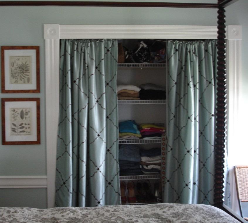 Using Curtains As Doors
