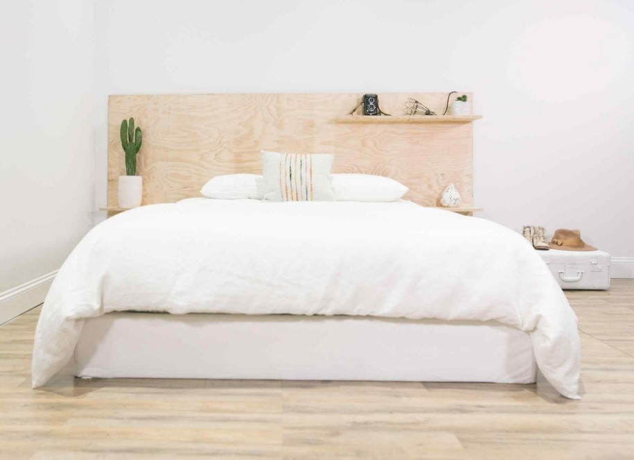 DIY Headboard Ideas Using Plywood