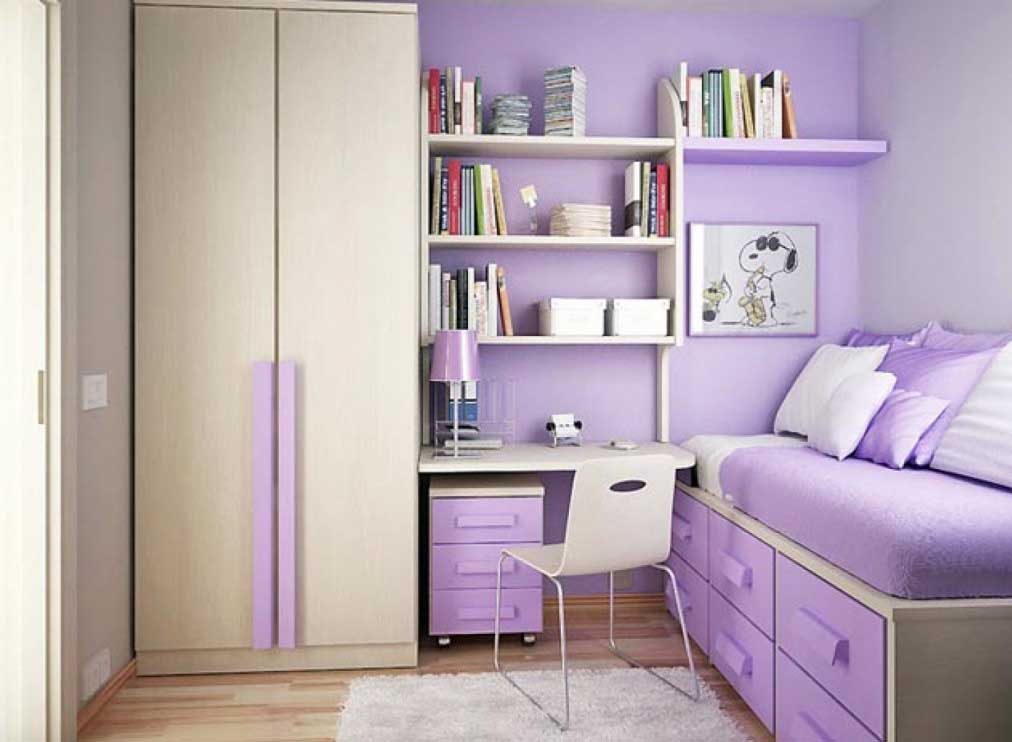 Drawers Under Girls' Bed
