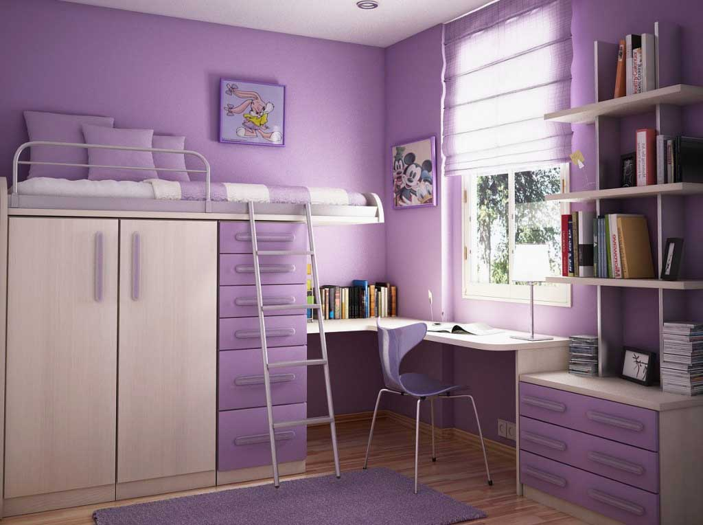 Good 2. Loft Bed For Girlsu0027 Limited Space