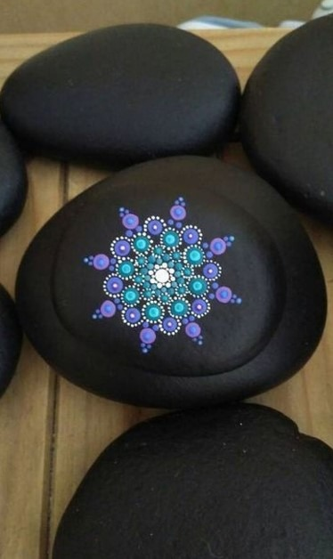 Mandala Rock Painting Ideas