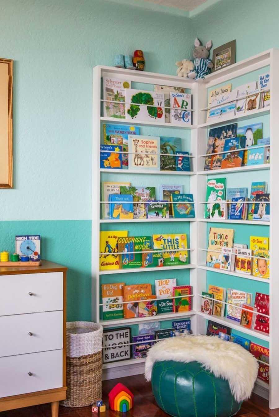 Nursery Bookshelves on The Corner