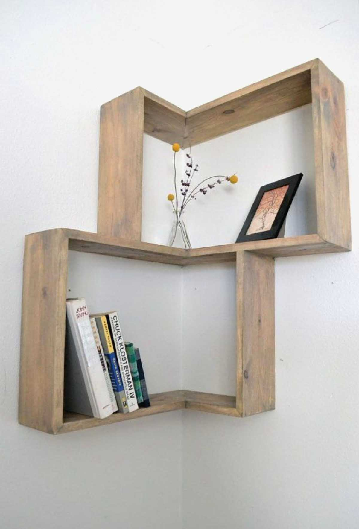 Simple Plywood Corner Display