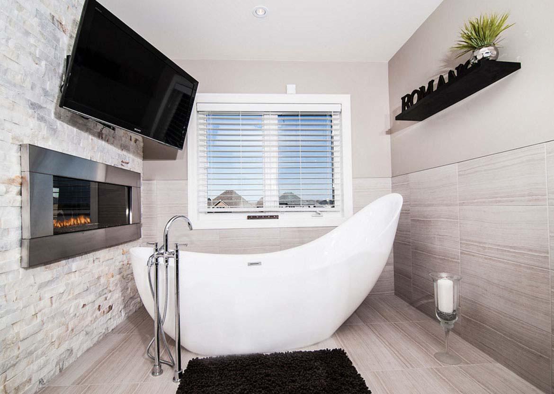 TV Wall Mount In a Bathroom