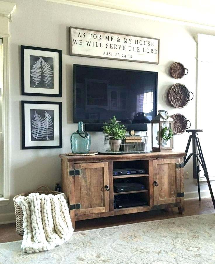 TV Wall Mount for Farmhouse Style