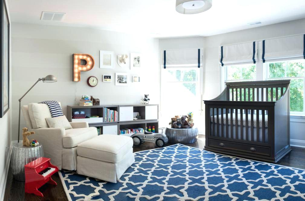 An Airy Nursery for Boys