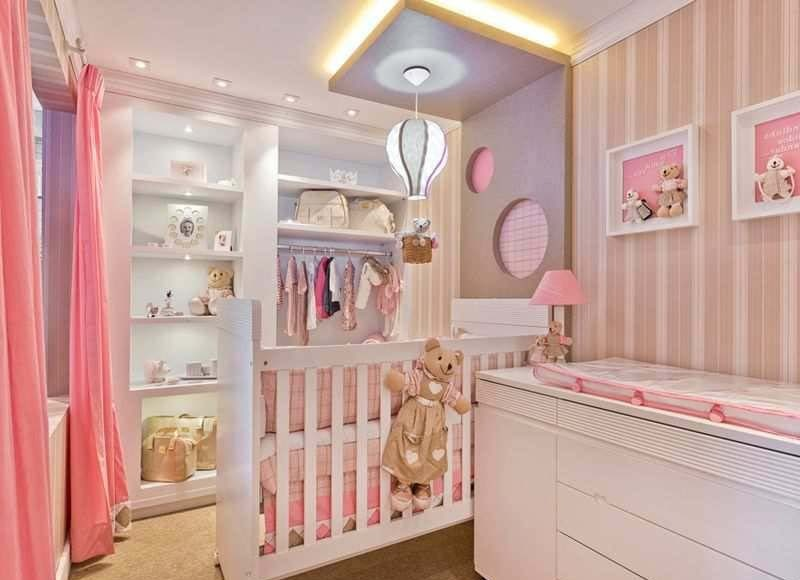 Cute Nursery for Limited Space