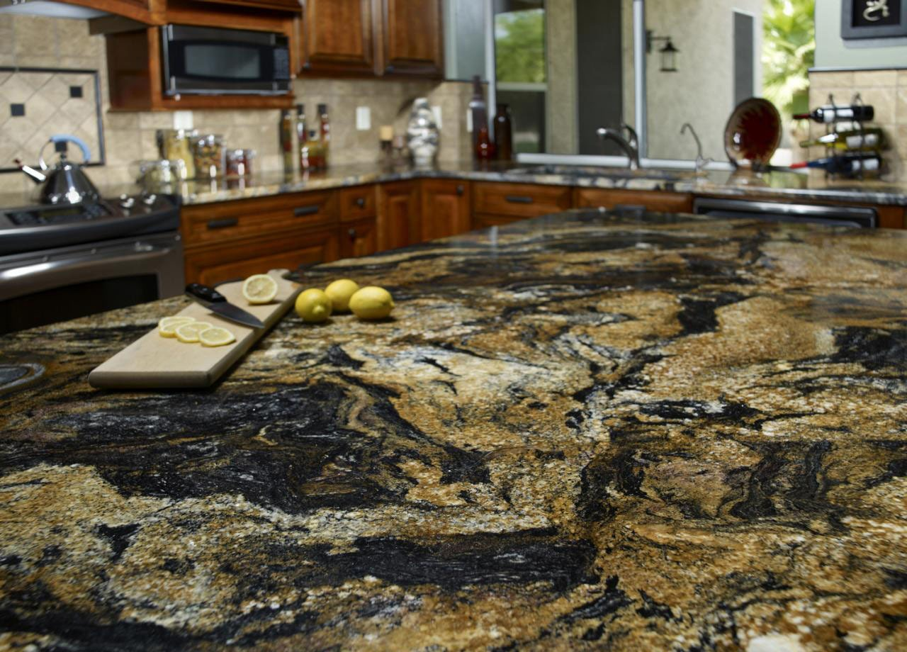 10 Outstanding Examples of Granite Kitchen Countertops Ideas ...
