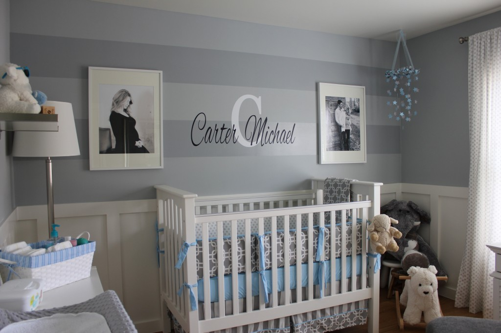 Gray Baby Room for Boys