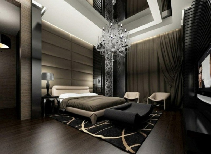 Luxurious Modern Master Bedroom