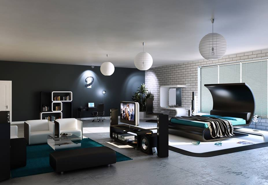 Monochrome That Teams Up With Teal